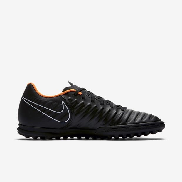 Chuteira Nike Society Tiempo Legendsx 7 Club TF Preto