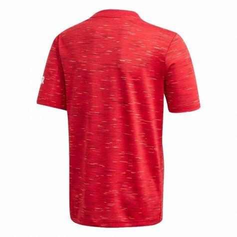 Camisa Manchester United Home Adidas 2020-21 Infantil