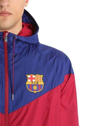 fe981e1b92 Jaqueta Nike Barcelona Wrangler Woven Authentic Masculina