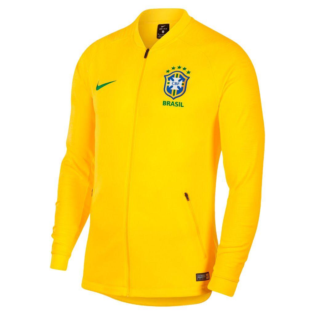 Jaqueta Brasil Strike Anthem Nike 2018