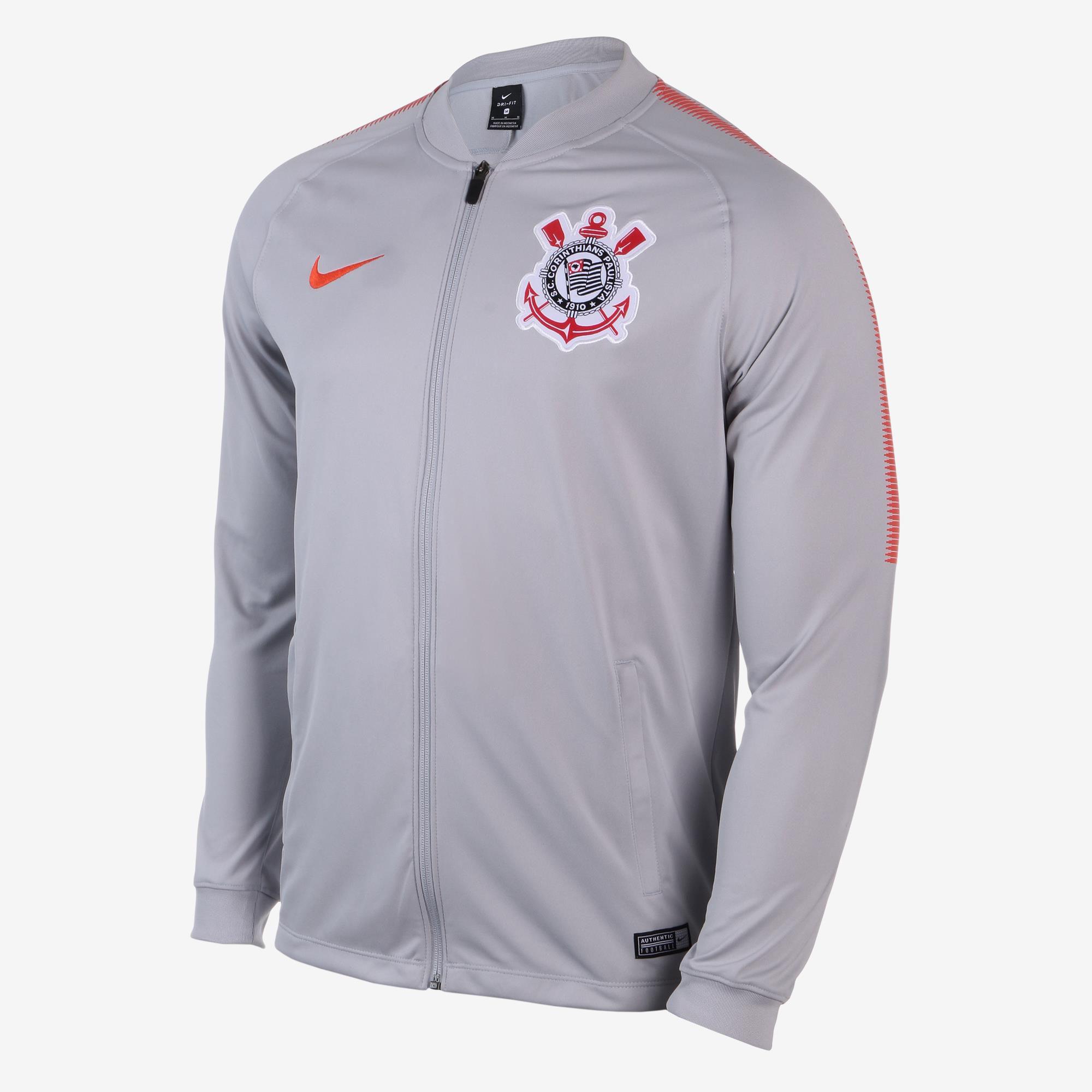 Jaqueta Corinthians Treino Nike 2018/19