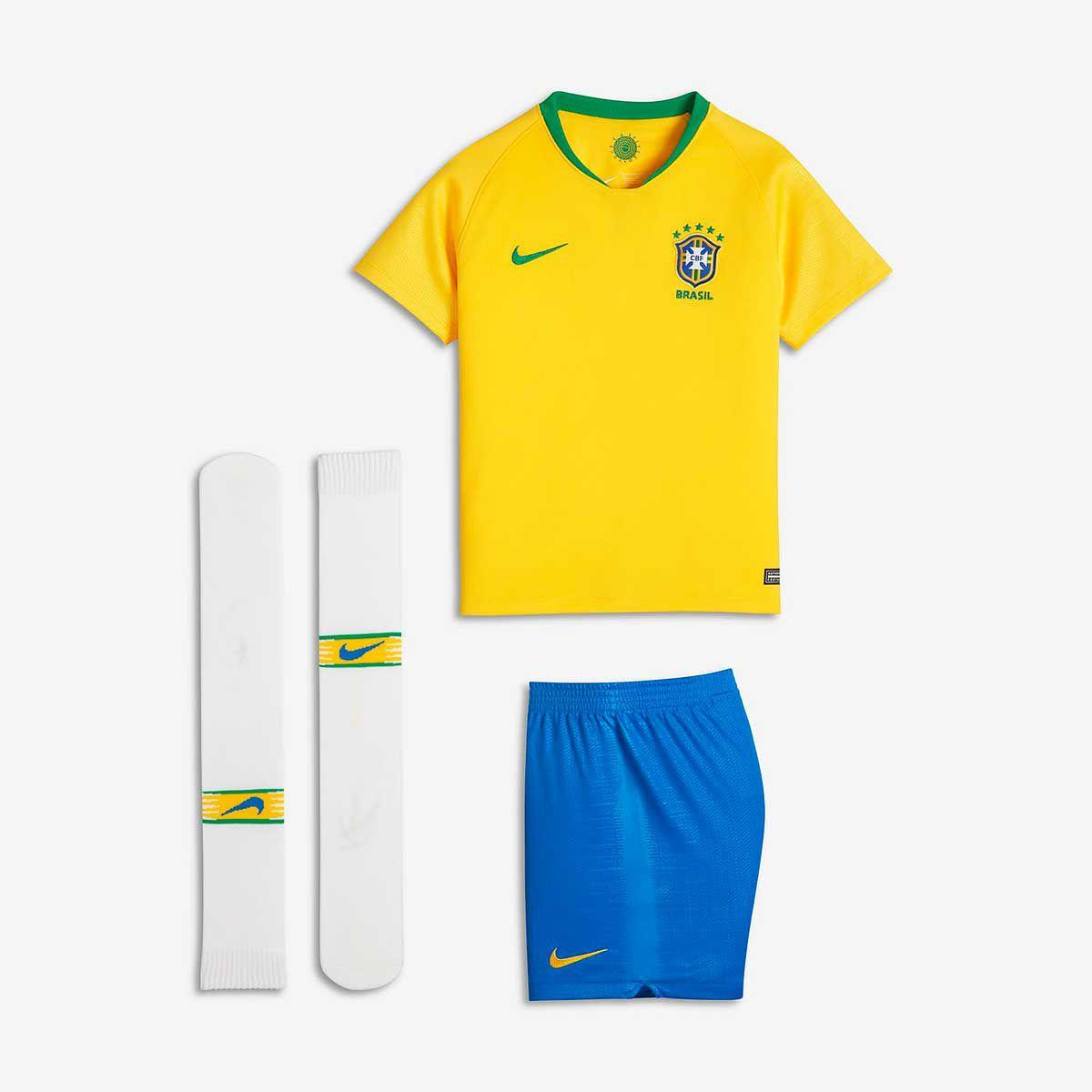 Kit Infantil Brasil CBF 2018