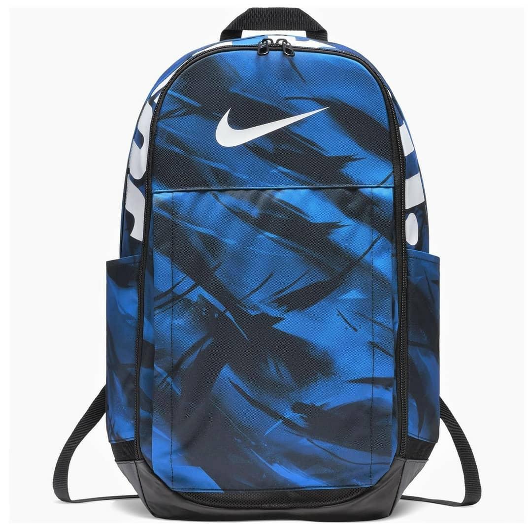 Mochila Nike Brasilia Xl Backpack Azul + Preto