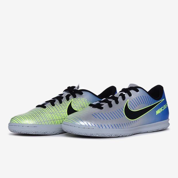 Chuteira Futsal Nike Mercurial X Vortex III Neymar IC Infantil bd841d652714f