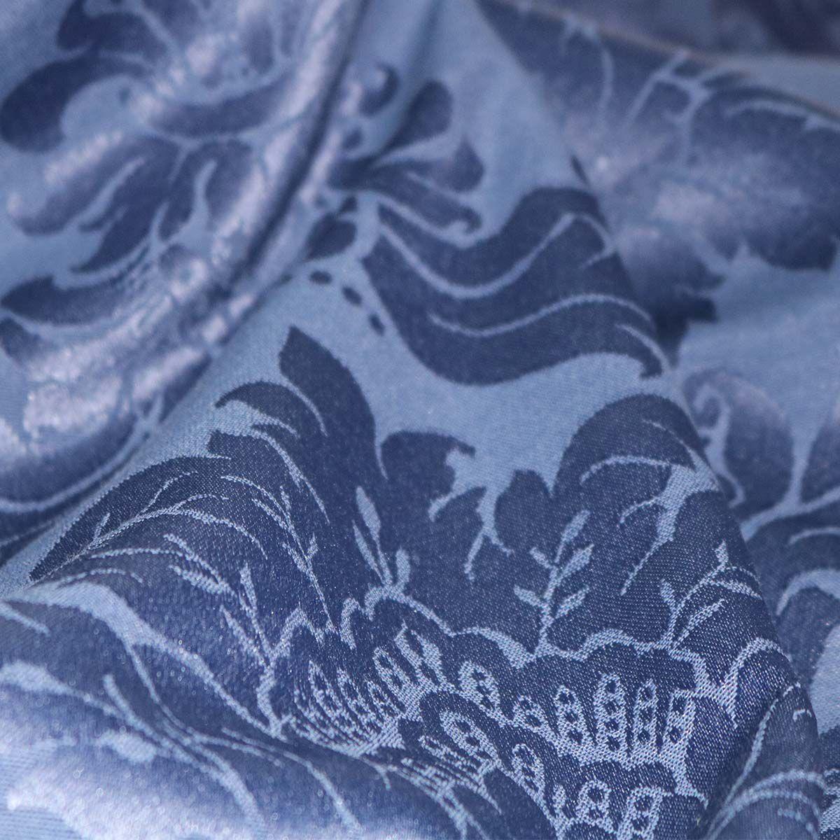 581d28bd9d Tecido Jacquard Estampado Des.1139-Azul Marinho - Juma Tecidos ...