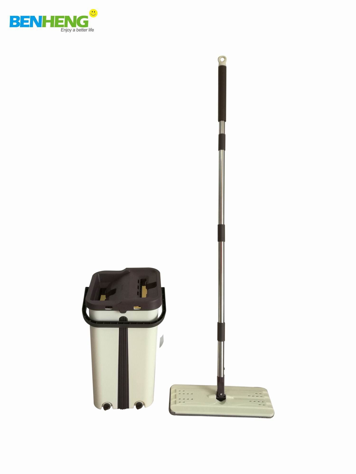 Balde Mop Limpador Multiuso Wash Dry Premium 12l