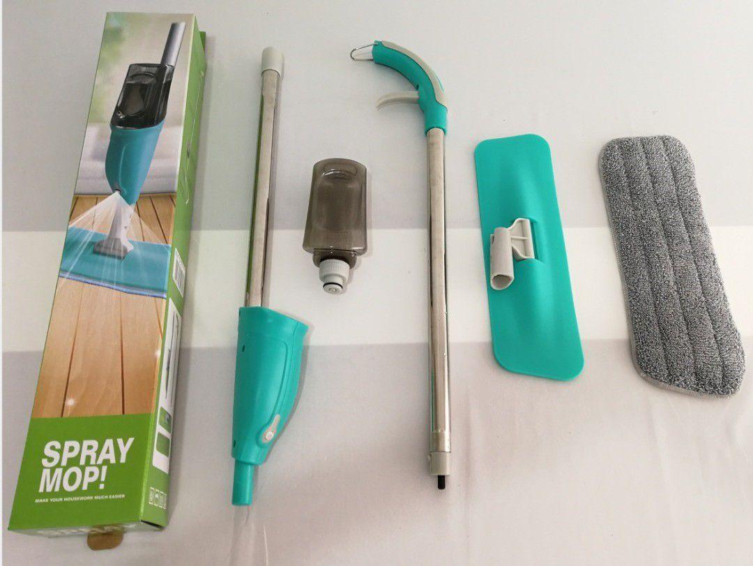 Rodo Spray Mop Esfregao Com Reservatório Borrifador