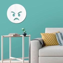 Espelho Decorativo Emoji Bravo