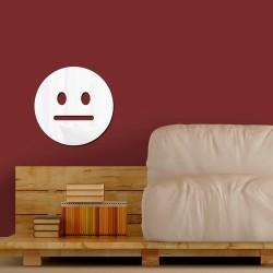 Espelho Decorativo Emoji Cético