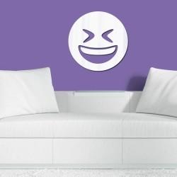 Espelho Decorativo Emoji Divertido