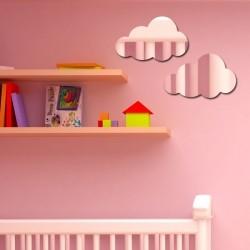 Espelho Decorativo Nuvens