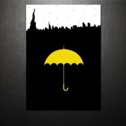 Poster Yellow Umbrella How I Met Your Mother
