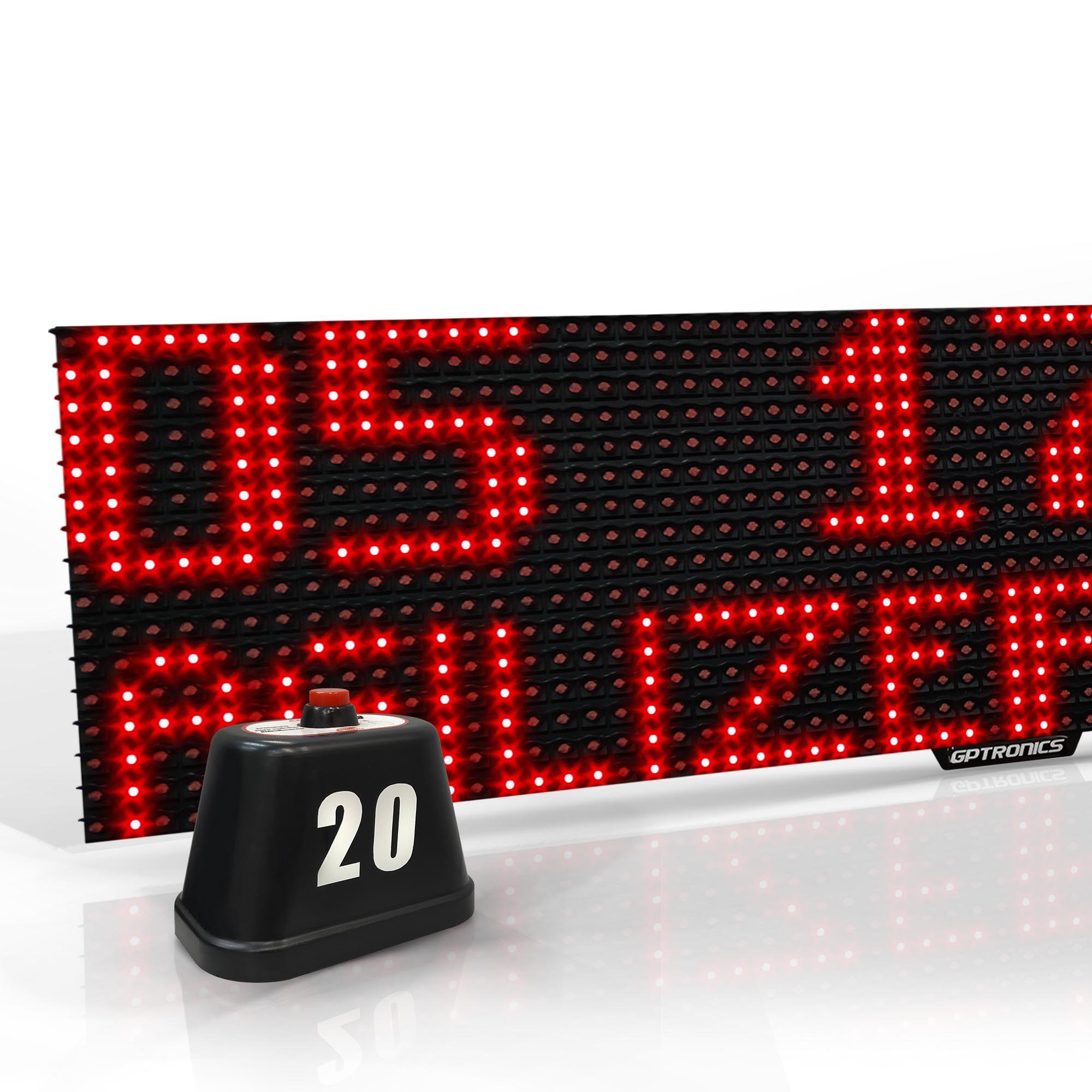 Agilize Full GA - Kit Painel Garçom com Mensagem para 10 mesas - 64x16x4cm