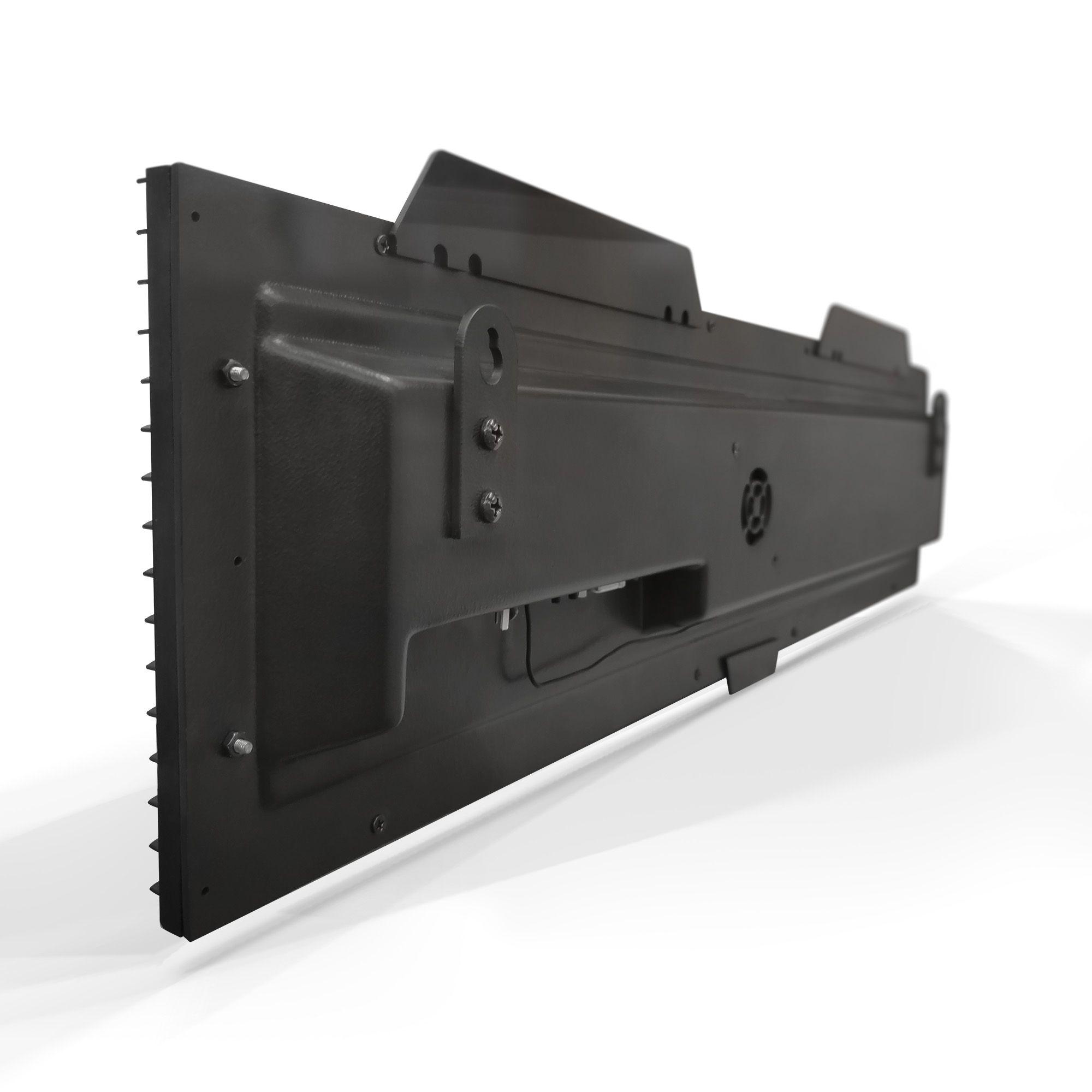 Agilize Full SA - Painel de Senhas Alternadas com Mensagem - 64x16x4cm