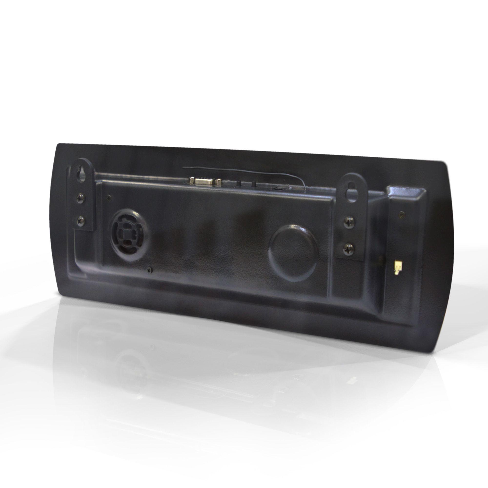 Agilize Slim 625 SG - Painel de Senha e Guichê com 2 Controles e Dispensador e Bobina - 38x14 cm