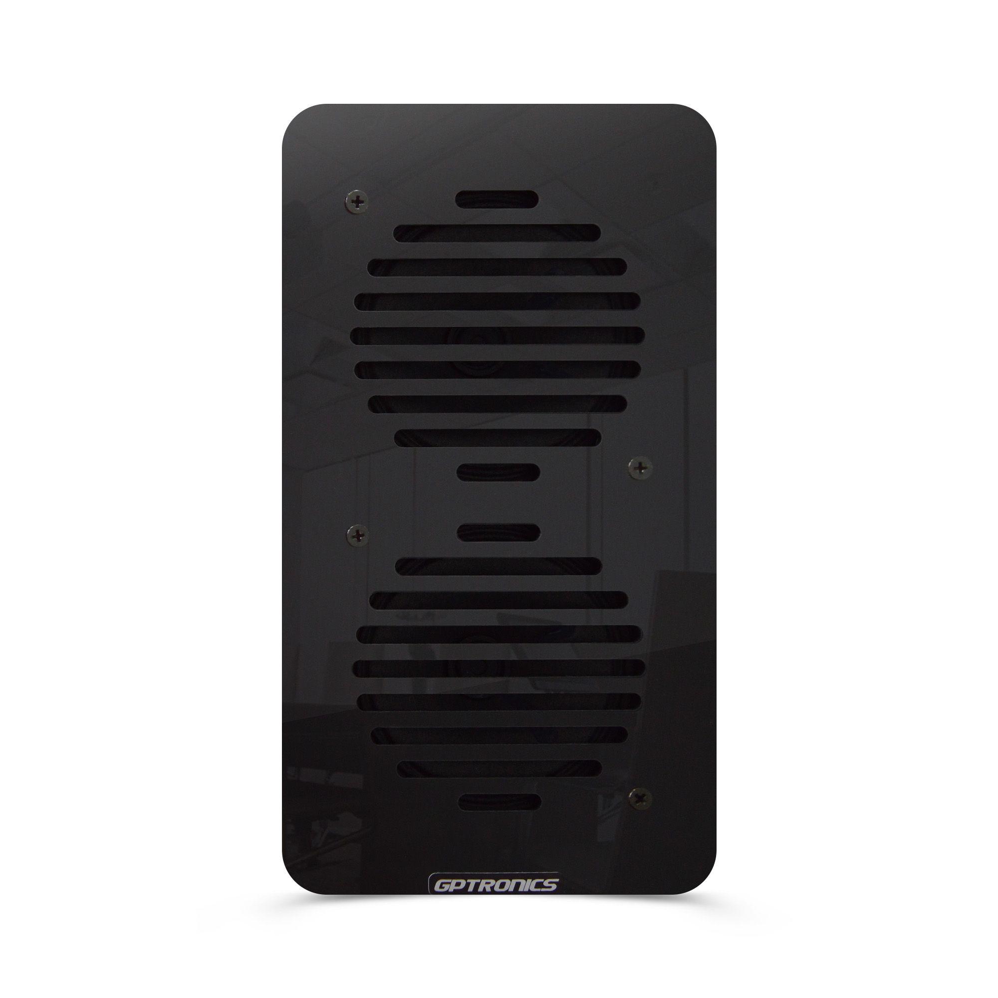 Fala Senha Vox One - Caixa de Som com voz para chamada de senhas - 10,5x19 cm