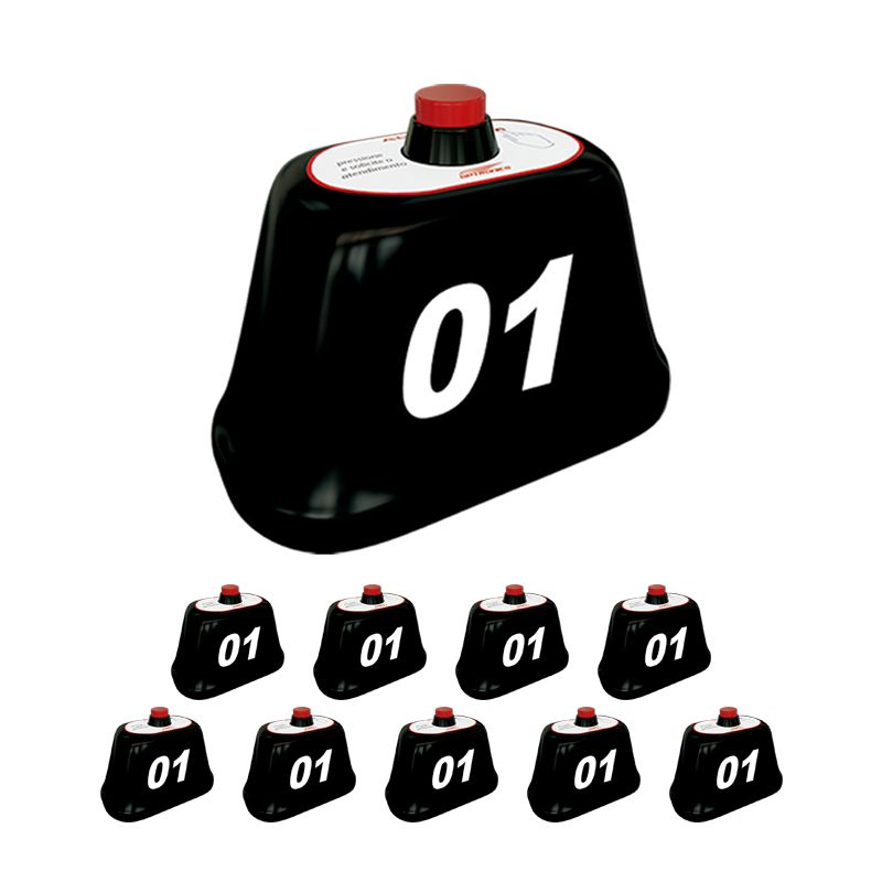 Kit com 10 chamadores