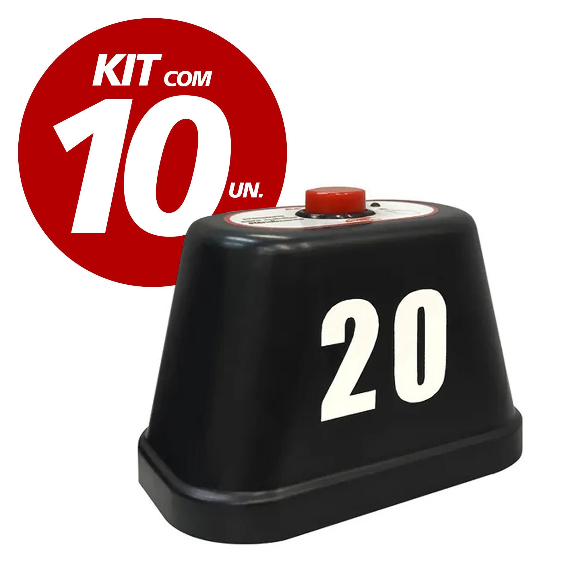 Kit com 10 chamadores de Garçom