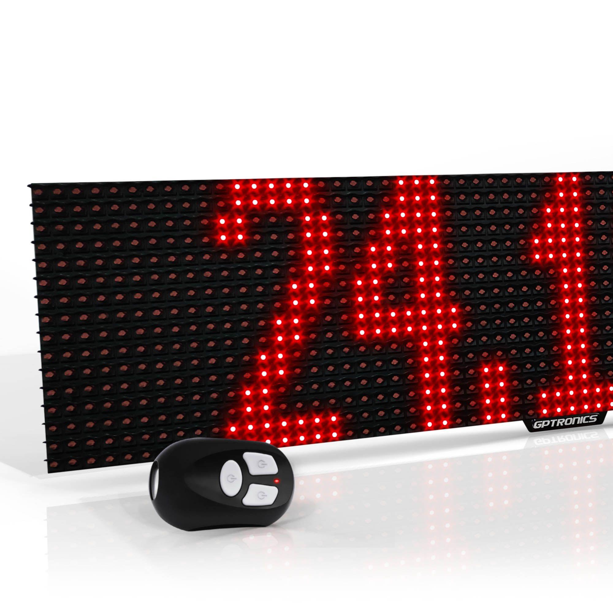 Painel de Mensagens LED Full M2E (Externo) - 64x16 cm