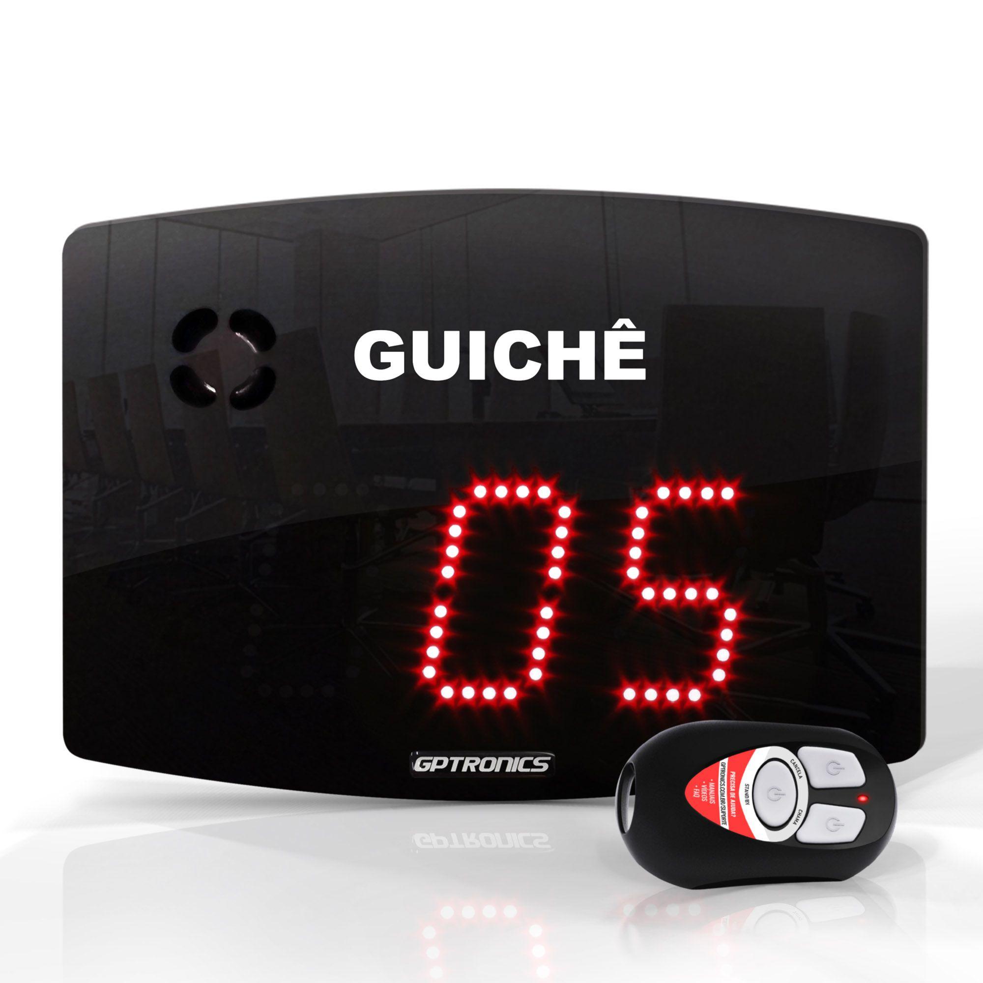 Painel Guichê Agilize Slim 25 G / 24x18 cm / Com Controle Wi