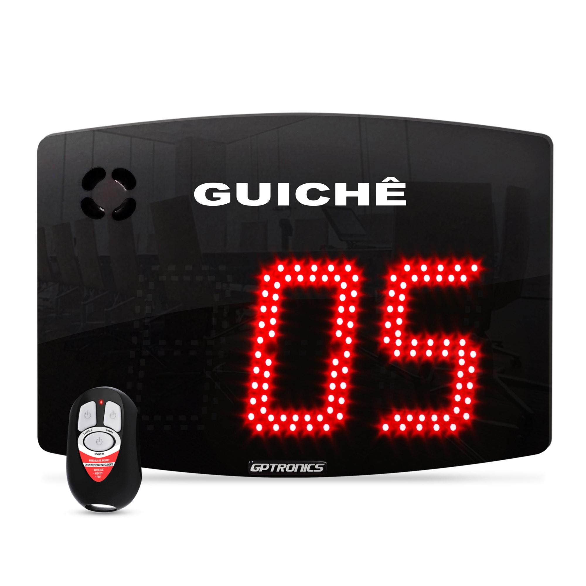 Painel Guichê Agilize Slim 40 G com 2 Controles WI - 28,5x22 cm