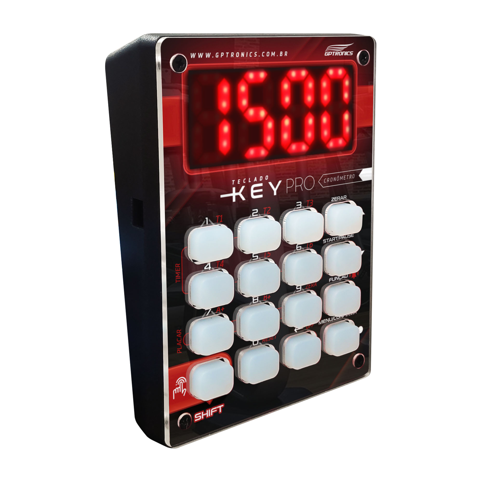 Teclado KEY PRO para Cronômetro LEDTIME