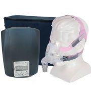 CPAP Automático Ecostar Sefam + Máscara Oronasal Quattro FX for Her