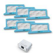 Filtro Ultrafino Original CPAP e BiPAP DreamStation Philips Respironics (6 Unidades)