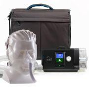 Kit CPAP Auto S10 Resmed + Umidificador + Máscara Nasal Wisp Silicone
