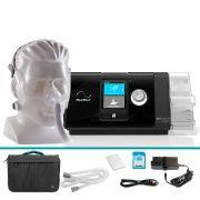Kit CPAP Automático Airsense 10 AutoSet Resmed + Máscara Nasal Wisp Philips Respironics