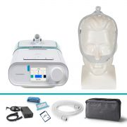 Kit CPAP Automático DreamStation + Umidificador + Máscara Nasal DreamWear Philips Respironics