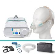Kit CPAP Automático DreamStation + Umidificador + Máscara Nasal Nuance Philips Respironics