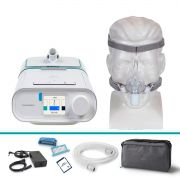 Kit CPAP Automático DreamStation + Umidificador + Máscara Nasal Pico