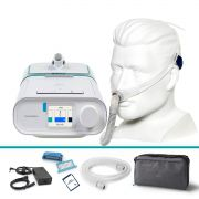 Kit CPAP Automático DreamStation + Umidificador + Máscara Nasal Swift FX Resmed