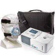 Kit CPAP Automático Yuwell + Umidificador + Máscara Nasal ComfortGel Blue