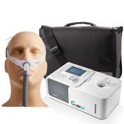 Kit CPAP Automático Yuwell + Umidificador + Máscara Nasal Swift FX