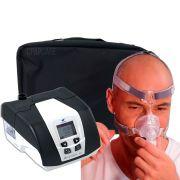 KIT CPAP DreamStar Intro + Umidificador + Máscara Nasal Respireo Soft