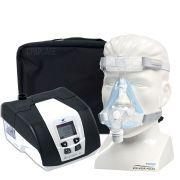 KIT CPAP DreamStar Intro + Umidificador + Máscara Oronasal Amara Gel