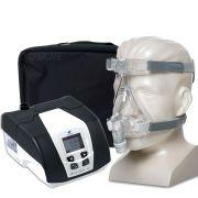 KIT CPAP DreamStar Intro + Umidificador + Máscara Oronasal Amara Silicone