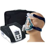 KIT CPAP DreamStar Intro + Umidificador + Máscara Oronasal Mirage Quattro