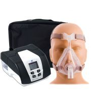 KIT CPAP DreamStar Intro + Umidificador + Máscara Oronasal Quattro Air