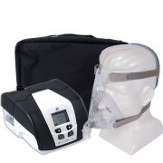 KIT CPAP DreamStar Intro + Umidificador + Máscara Oronasal Quattro Air For Her