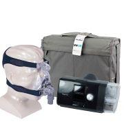 Kit CPAP Fixo AirSense 10 Elite + Umidificador + Máscara Nasal  Mirage Activa LT