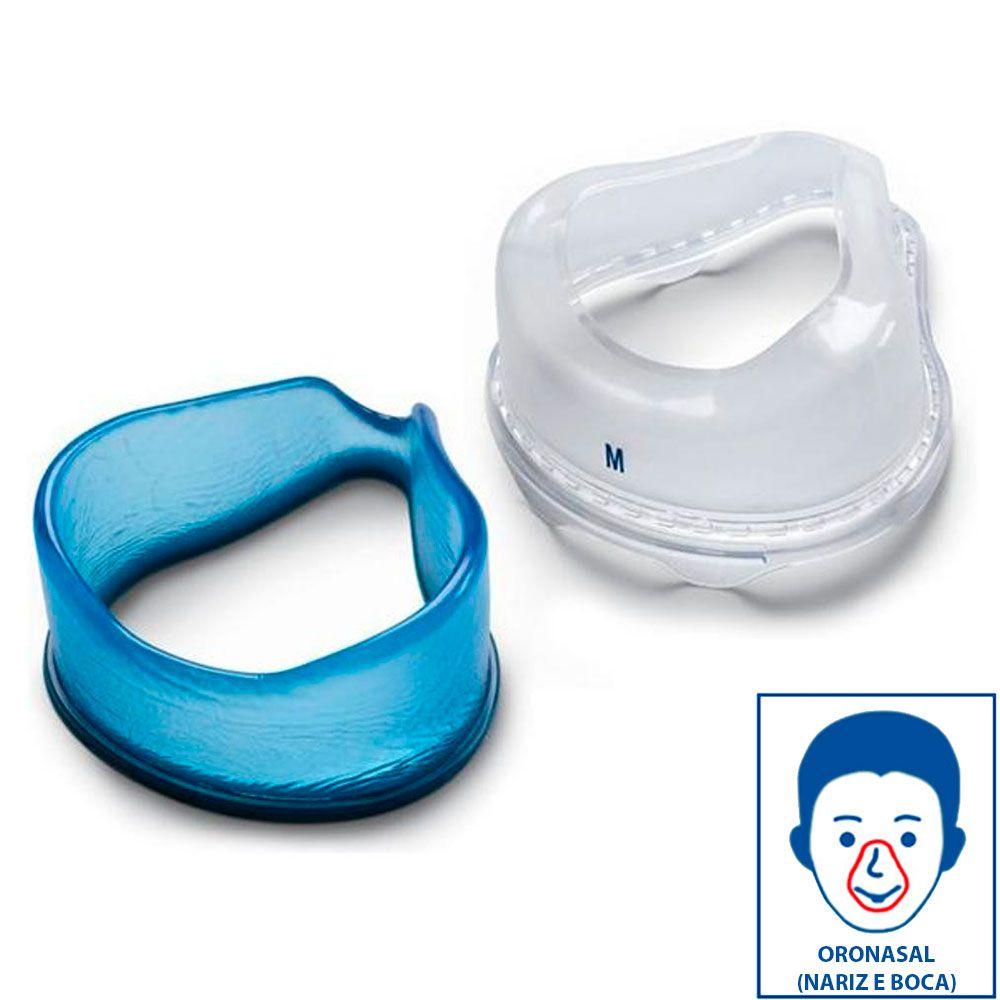 Almofada em Gel e Aba em Silicone Para ComfortGel Full Oronasal - Philips Respironics