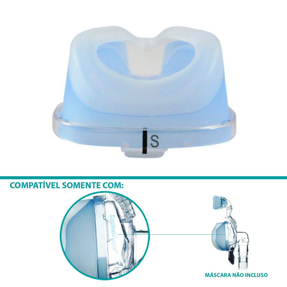 Almofada para Máscara Nasal ComfortFusion Philips Respironics