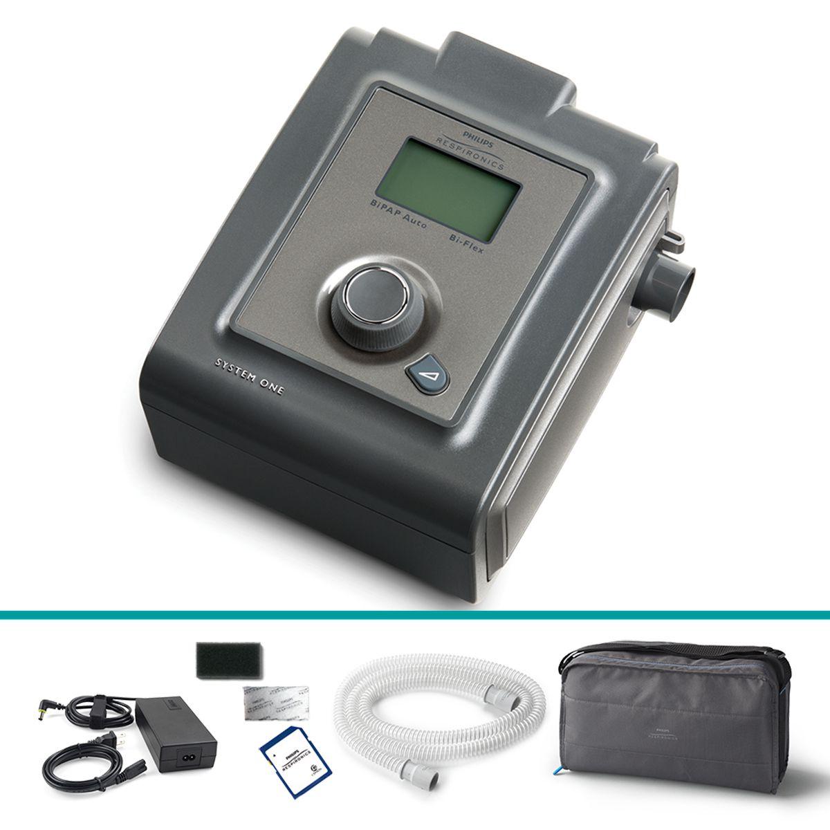 BiPAP Automático Bi-Flex System One 60 Series - Philips Respironics