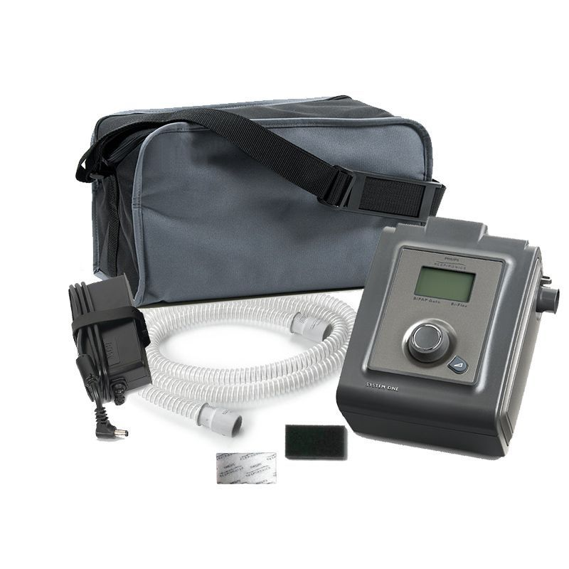 BiPAP Automático + Umidificador System One Serie 60 Philips Respironics
