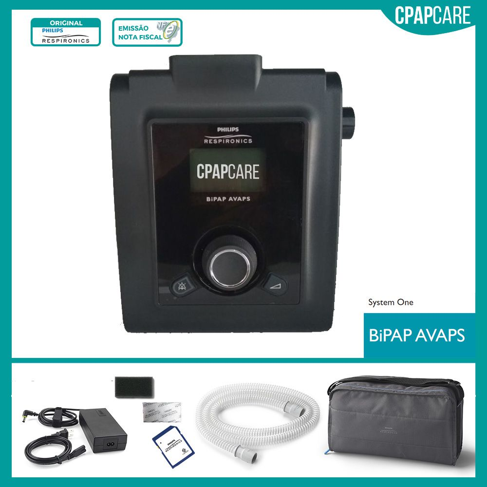 BiPAP Synchrony III com AVAPS Philips Respironics
