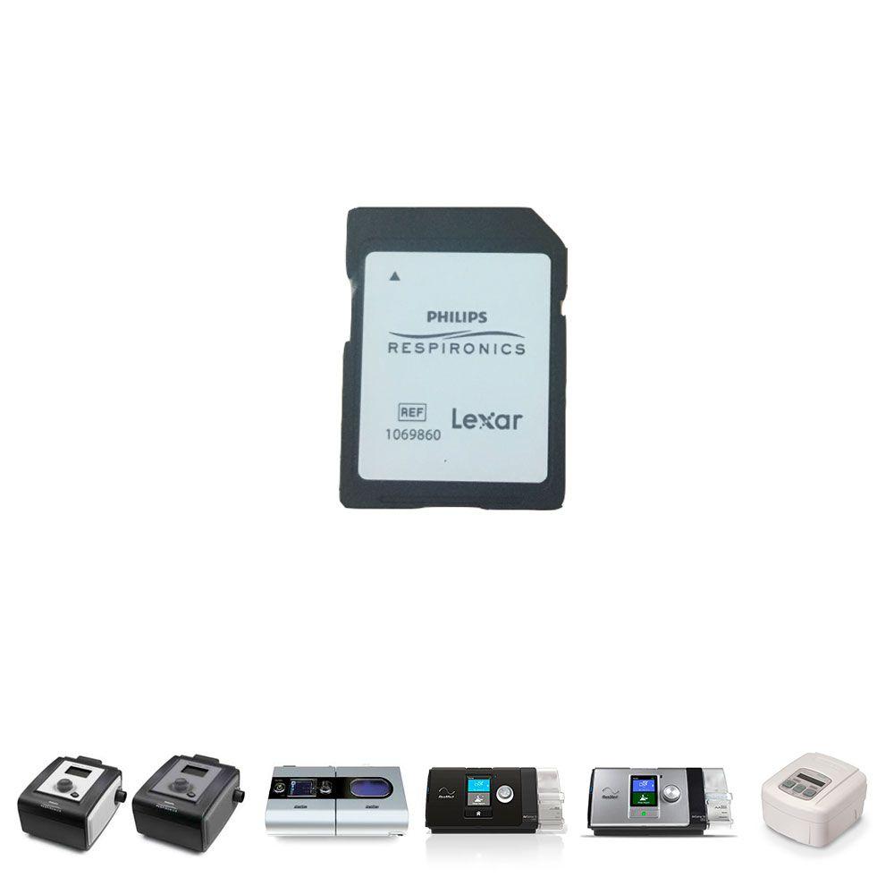 Cartão de Dados (SD Card) 1GB Philips Respironics