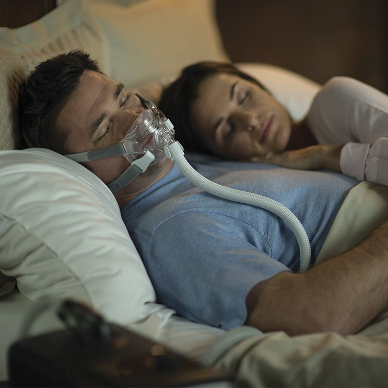 (COMBO) CPAP (Automático) DreamStation com Máscara Facial Amara View Philips Respironics